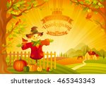 Thanksgiving Day Vector...