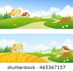 vector cartoon illustration of... | Shutterstock .eps vector #465367157