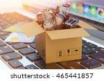 e commerce  online shopping ... | Shutterstock . vector #465441857
