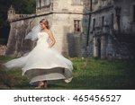 Bride Looks Charming Whirling...
