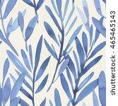 seamless watercolor pattern on...   Shutterstock . vector #465465143