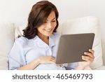 pregnancy  technology  people... | Shutterstock . vector #465469793