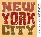 t shirt typography graphics new ... | Shutterstock .eps vector #465534323