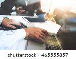 business team present. photo... | Shutterstock . vector #465555857