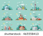 mega set of icons for your... | Shutterstock .eps vector #465558413