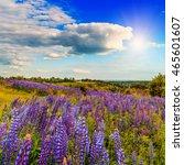 majestic landscape. fantastic... | Shutterstock . vector #465601607