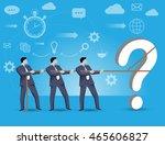 business concept of teamwork... | Shutterstock .eps vector #465606827