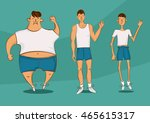 handsome person in a different...   Shutterstock .eps vector #465615317