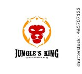 lion logo template   Shutterstock .eps vector #465707123