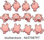 fat cartoon pig sprites  ready...