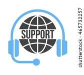 global support | Shutterstock .eps vector #465732257