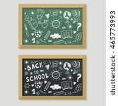 back to school | Shutterstock .eps vector #465773993