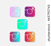 instagram abstract  instant... | Shutterstock .eps vector #465792743