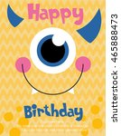 Monster Party Card Design....
