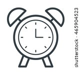 alarm clock vector icon