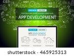 app development concept...