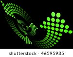 vortex arrow | Shutterstock .eps vector #46595935