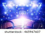 basketball arena 3d | Shutterstock . vector #465967607