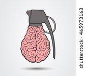brain bomb | Shutterstock .eps vector #465973163