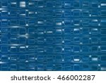 bright abstract mosaic blue... | Shutterstock . vector #466002287
