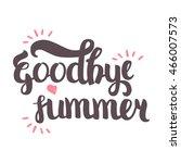 vector hand drawn lettering.... | Shutterstock .eps vector #466007573
