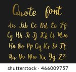 hand drawn modern script  quote ... | Shutterstock .eps vector #466009757