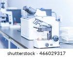 laboratory microscope  in a lab | Shutterstock . vector #466029317
