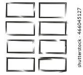 blank grunge frame set | Shutterstock .eps vector #466045127