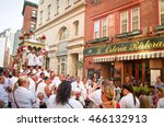 Small photo of Boston, Massachusetts, USA, 07 August 2016: Feast in honor of Saint Agrippina in Boston, Usa