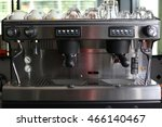coffee maker   a cup of coffee  ... | Shutterstock . vector #466140467