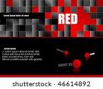 fresh red website template