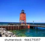 A Cute Little Lighthouse On A...