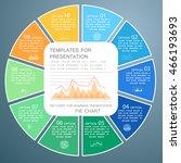 infographics for business... | Shutterstock .eps vector #466193693