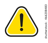 attention sign | Shutterstock .eps vector #466208483