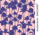 vector palm trees illustration... | Shutterstock .eps vector #466216007