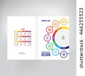 cover for catalogue  brochure ... | Shutterstock .eps vector #466255523