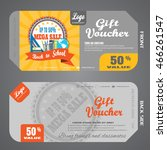 blank of back to school gift... | Shutterstock .eps vector #466261547