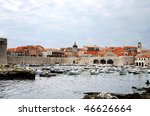 Famous Port In Dubrovnik ...