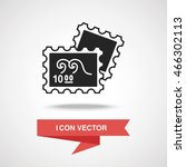 collect stamp icon | Shutterstock .eps vector #466302113