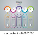 infographic design vector and... | Shutterstock .eps vector #466329053