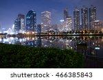 view public park bangkok | Shutterstock . vector #466385843