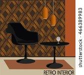 vector illustration of retro... | Shutterstock .eps vector #466389983