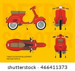 Retro Vector Vestpa Scooter...