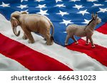 partisan politics of the... | Shutterstock . vector #466431023