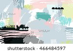 vector abstract background with ... | Shutterstock .eps vector #466484597