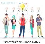 modern vector illustration  ... | Shutterstock .eps vector #466516877