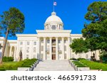 alabama state capitol in... | Shutterstock . vector #466591733