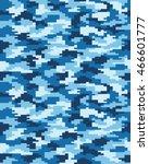 digital fashion camouflage...   Shutterstock .eps vector #466601777