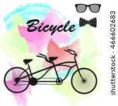 Stylish Bicycle Built For Two....