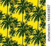 tropical seamless pattern  ... | Shutterstock .eps vector #466610837